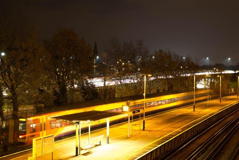 Trein stock afbeelding