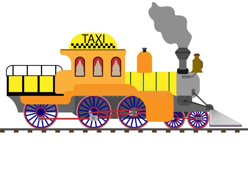 trein, stock illustratie