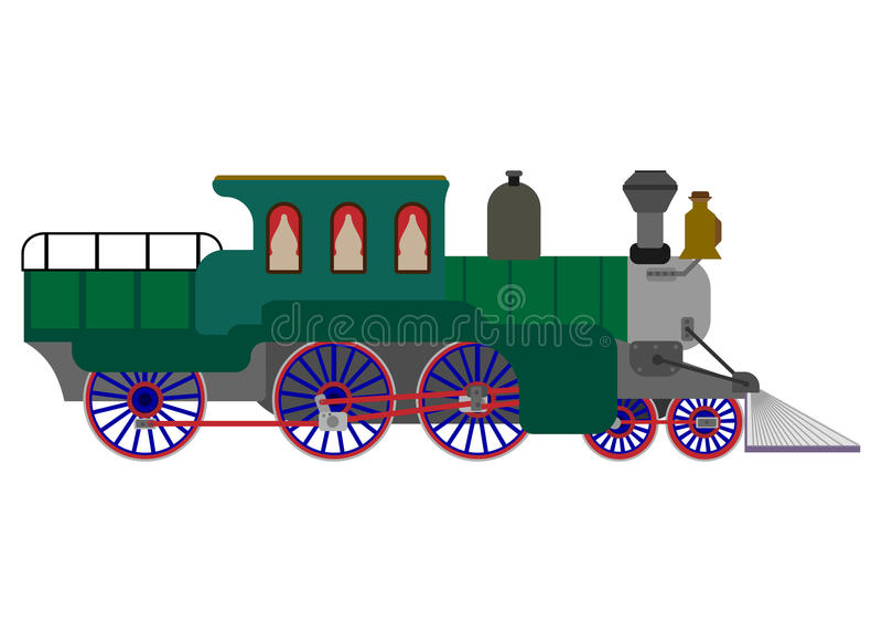 trein, vector illustratie