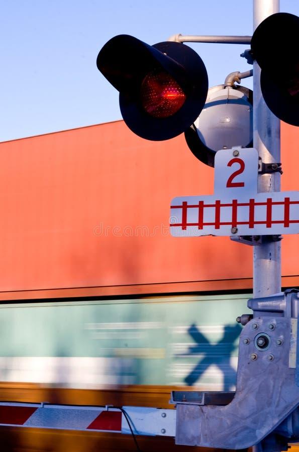 Trein die 1 kruisen