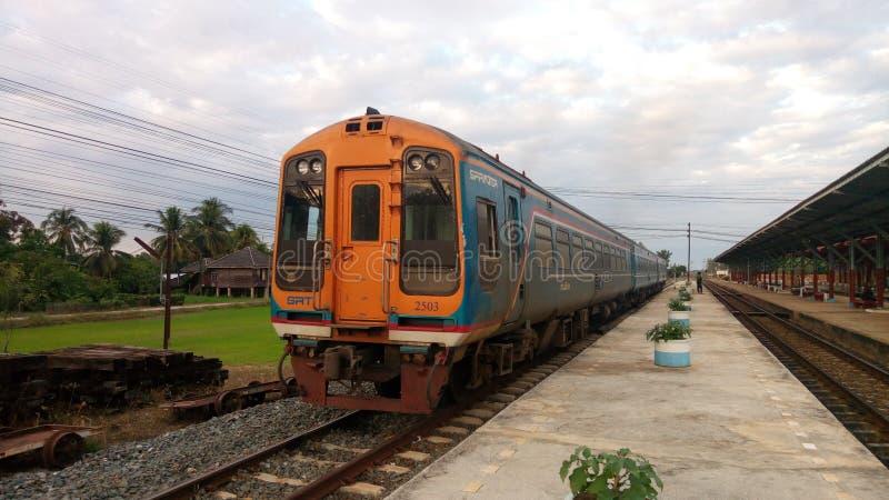 Trein Thailand stock afbeeldingen