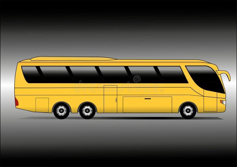 Treinador amarelo ilustração do vetor