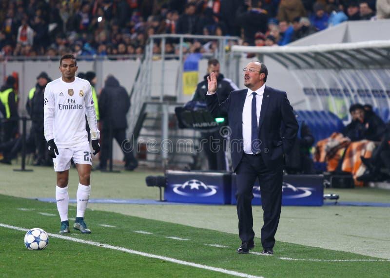Download Treinador Rafael Benitez Do Real Madrid Foto Editorial - Imagem de arena, liga: 65577126