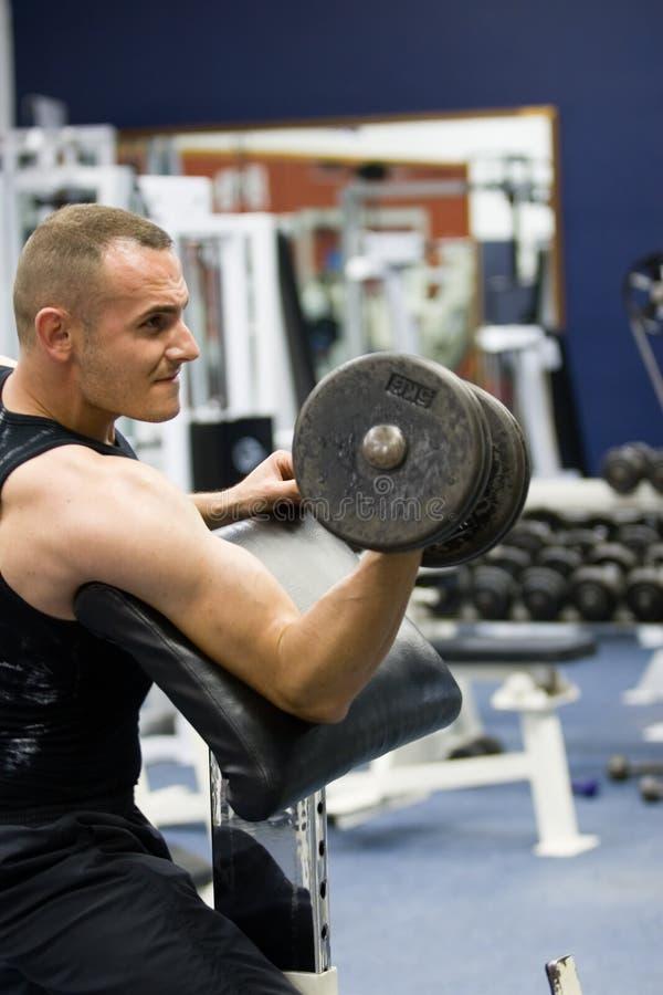 treinamento da ginástica da aptidão foto de stock royalty free
