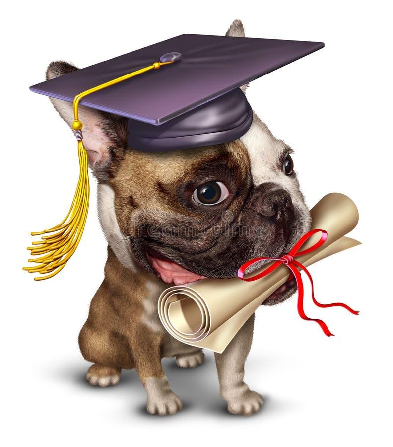 Treinamento do cão ilustração do vetor