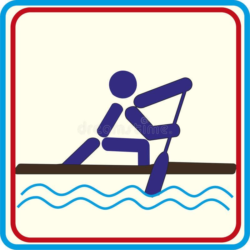 Treinamento do esporte do mundo, ícone, ilustrações ilustração stock