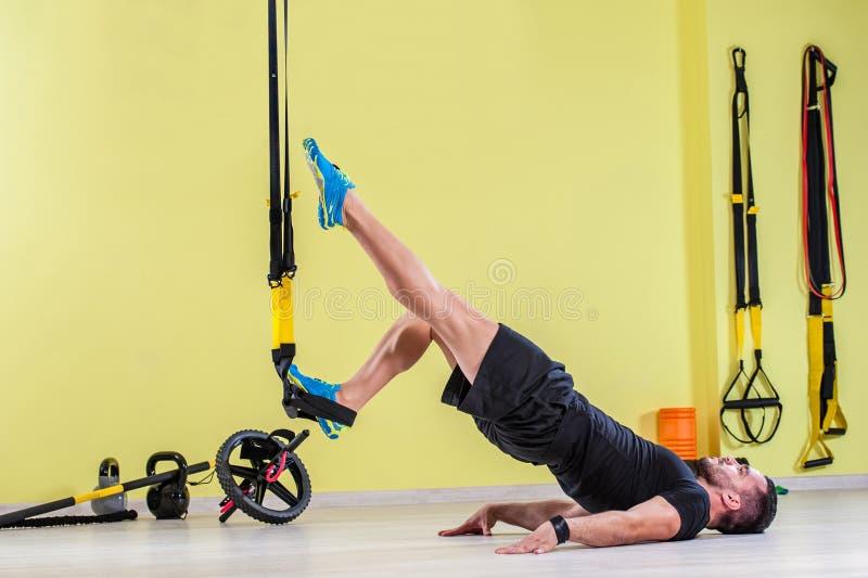 Treinamento do Gym Exercício da aptidão do exercício imagens de stock royalty free