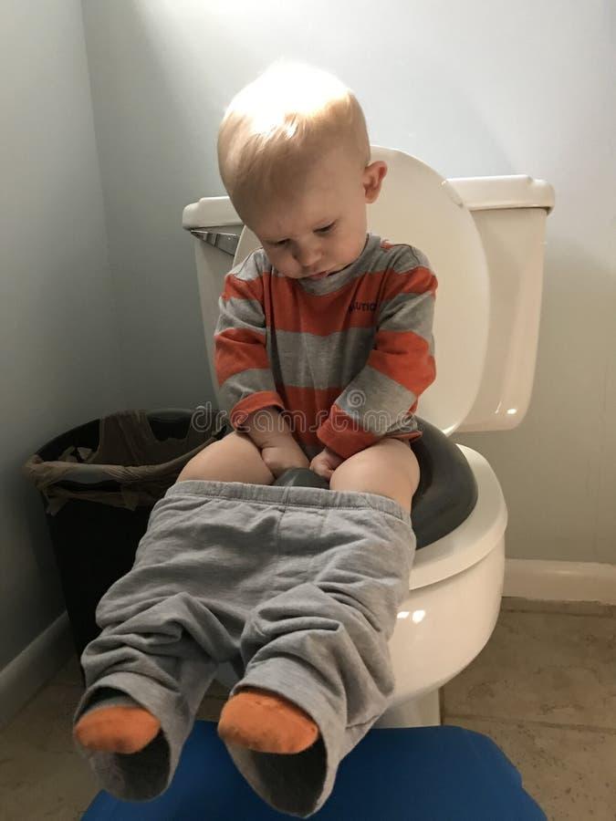 Treinamento do urinol fotos de stock royalty free