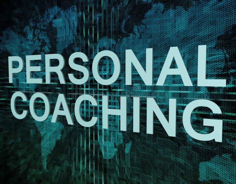 Treinamento pessoal ilustração royalty free