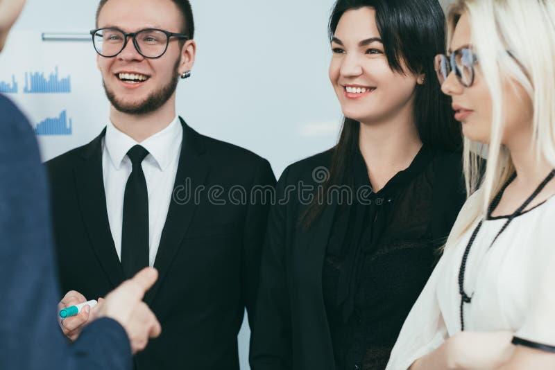 Treinamento profissional de treinamento do crescimento do negócio fotos de stock royalty free