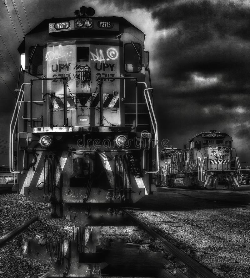 treinen stock afbeeldingen
