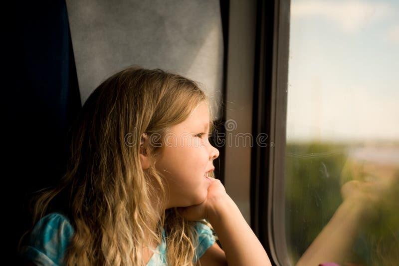 Treinreis stock afbeelding
