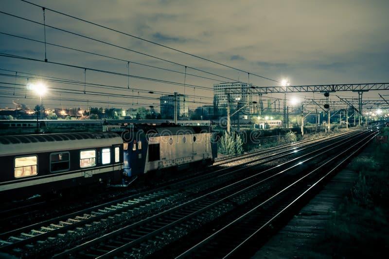 Treinvervoer stock afbeeldingen