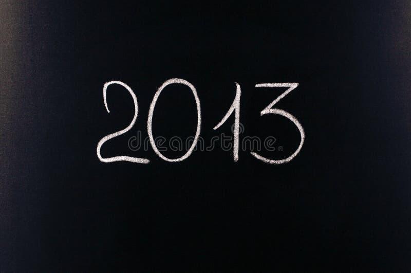 Treizième année deux mille (2013) photo libre de droits