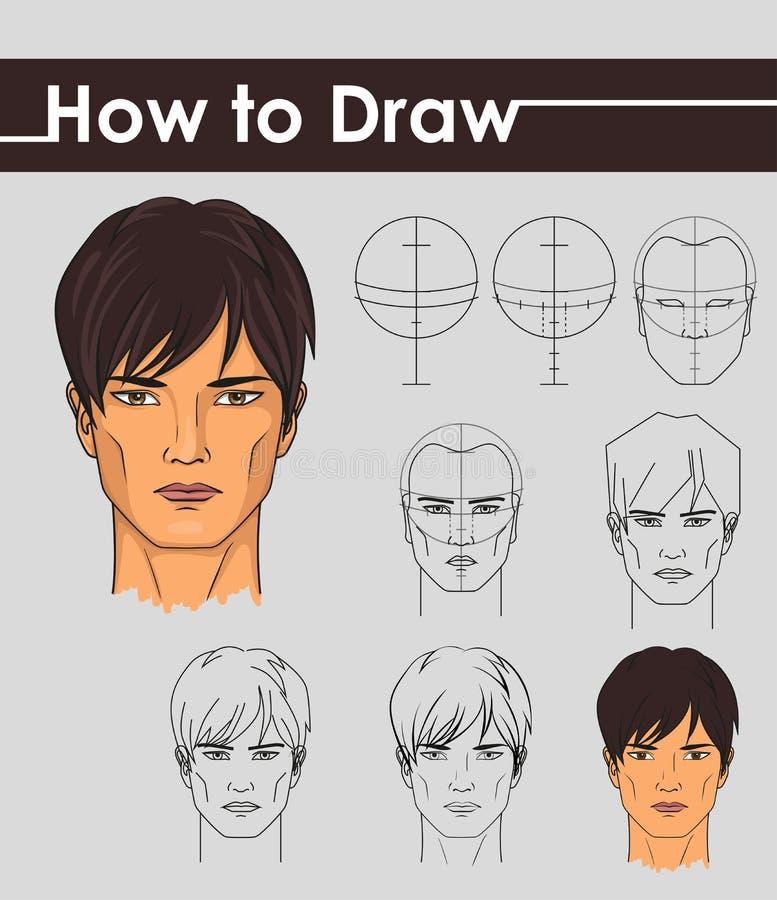 Trek leerprogramma Stap voor stap vector illustratie