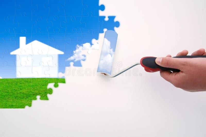 Trek uw beste project stock illustratie