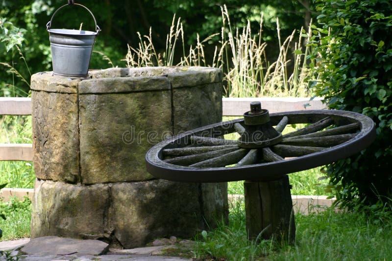 Trekken-fontein royalty-vrije stock afbeelding