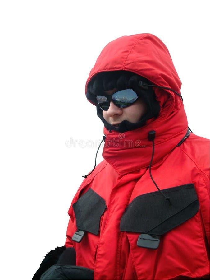 Download Trekker στοκ εικόνες. εικόνα από ήλιος, παλτό, υπαίθρια - 110770