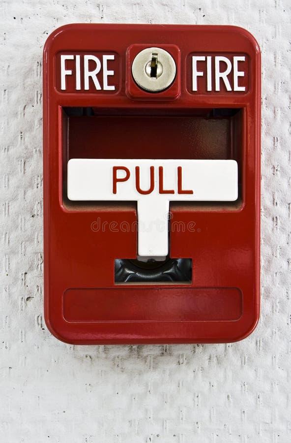 Trekker 2 van het brandalarm royalty-vrije stock foto