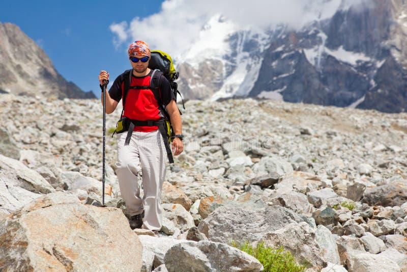 Download Trekker stock image. Image of activity, male, look, backpack - 28765561