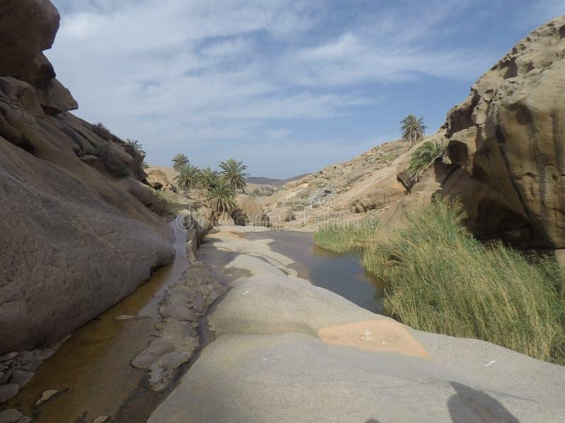 Trekking в промоине aguas las стоковые изображения