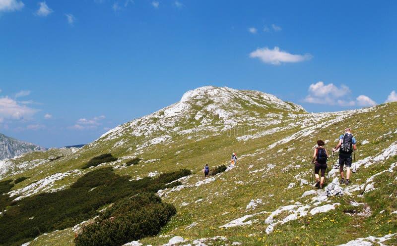 trekking стоковая фотография