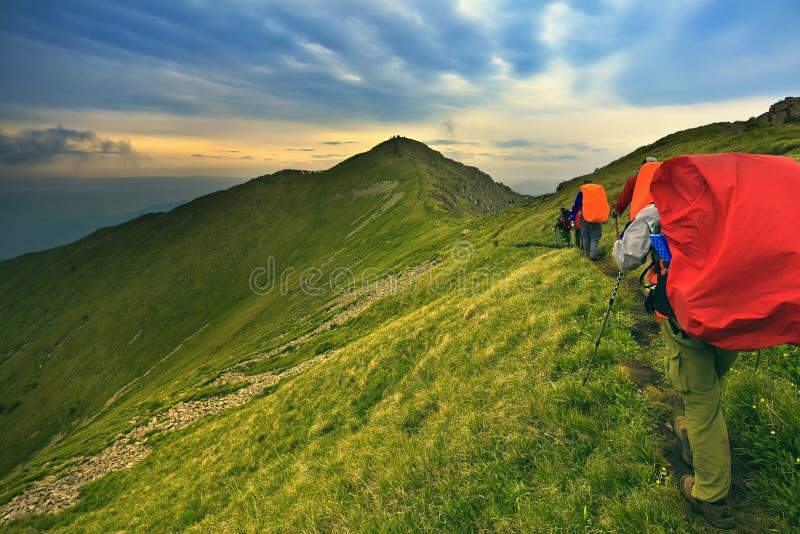 Trekking images stock