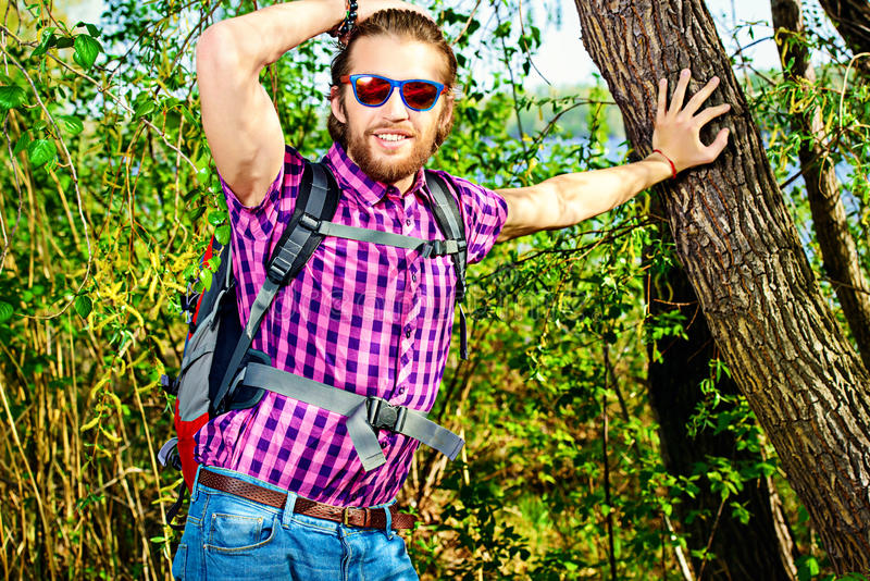 trekking images libres de droits