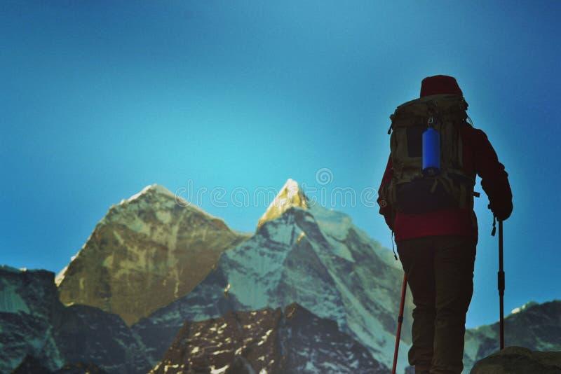 trekking photographie stock