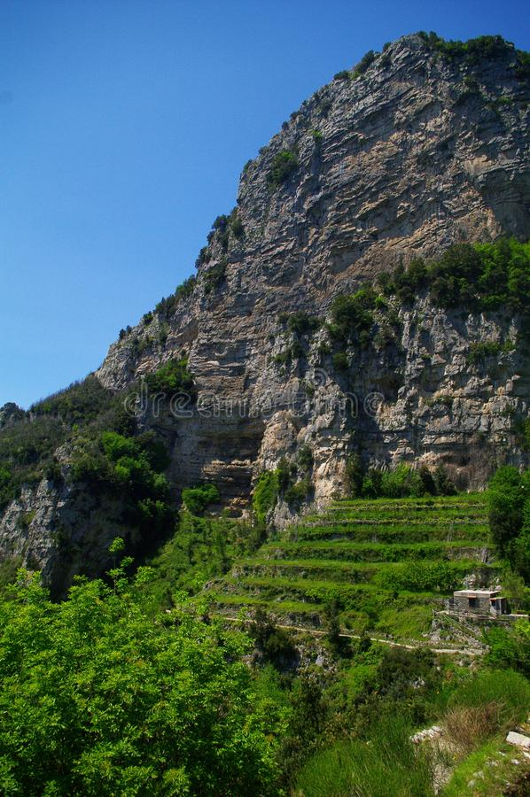 Trekking dag i Italien arkivfoton