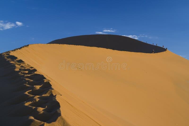 Trekking de désert photos libres de droits