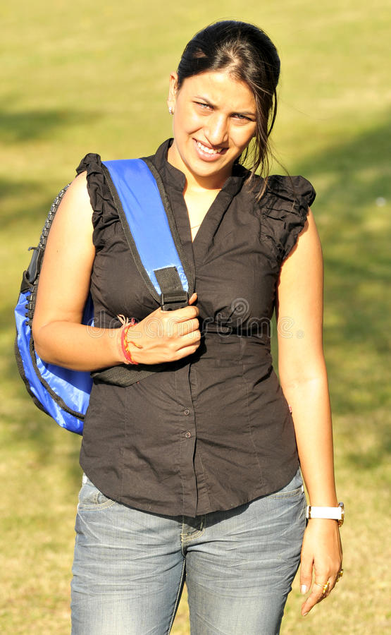 Download Trekking girl stock image. Image of clothing, body, youth - 11447245