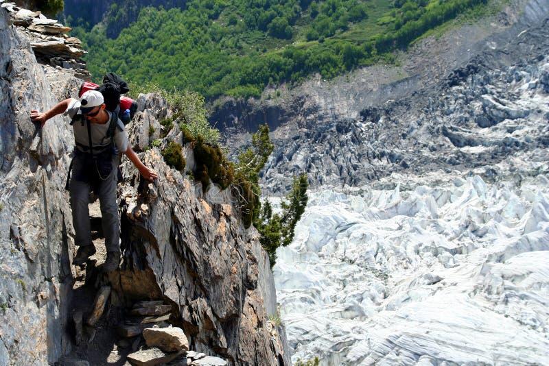Trekking in Karakorum stockfotografie