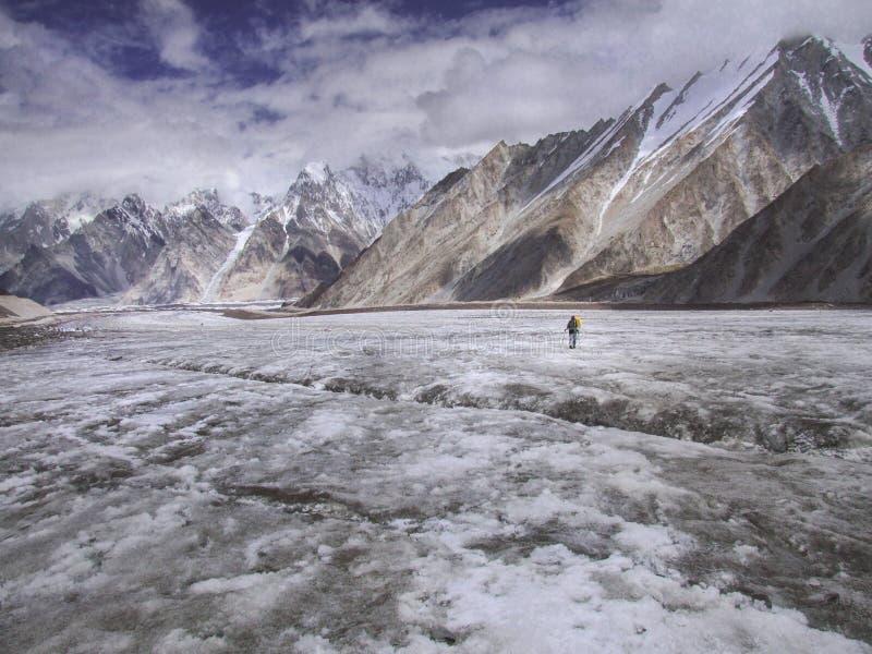 Trekking nel Pakistan fotografie stock