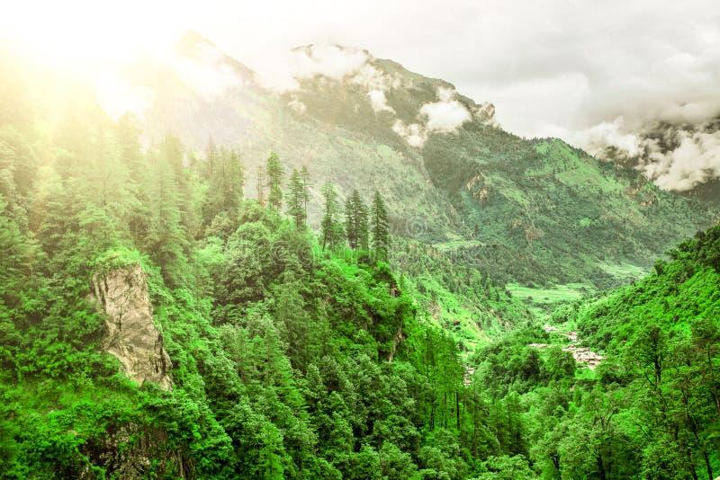 Download Trekking in Nepal stock foto. Afbeelding bestaande uit berg - 54087408