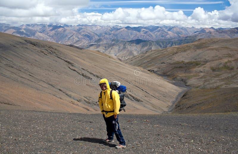 Trekkingsführer, Nepal lizenzfreie stockfotos
