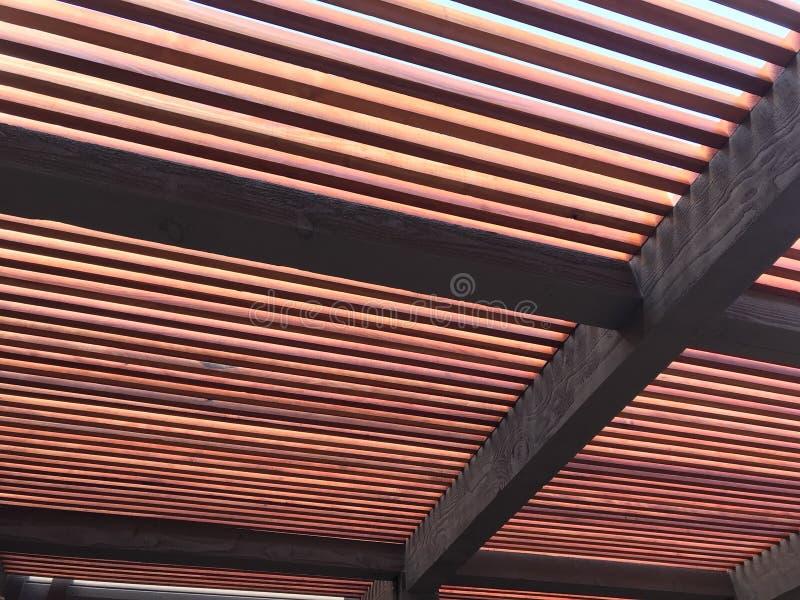 Treliça da sequoia vermelha fotografia de stock royalty free