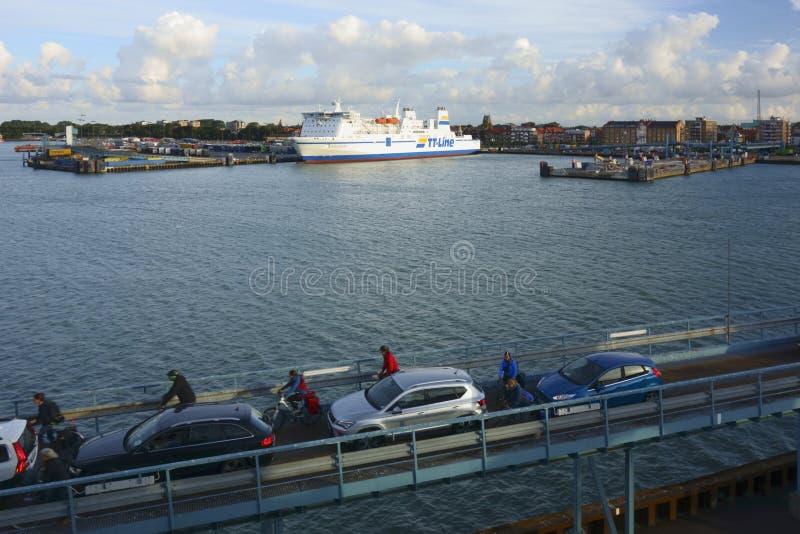 Trelleborghaven stock fotografie