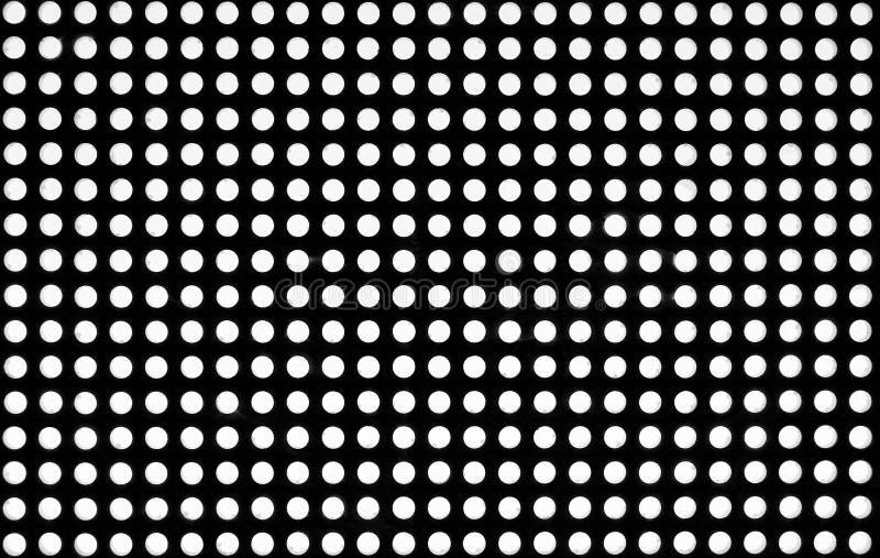 Trellis inconnu avec des couleurs de noir et de whyte photos stock