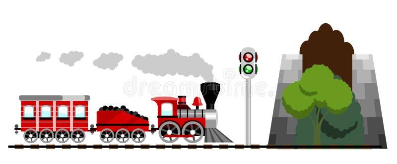 Trem ilustração do vetor