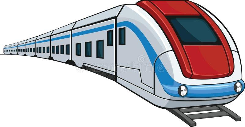 Trem ilustração royalty free
