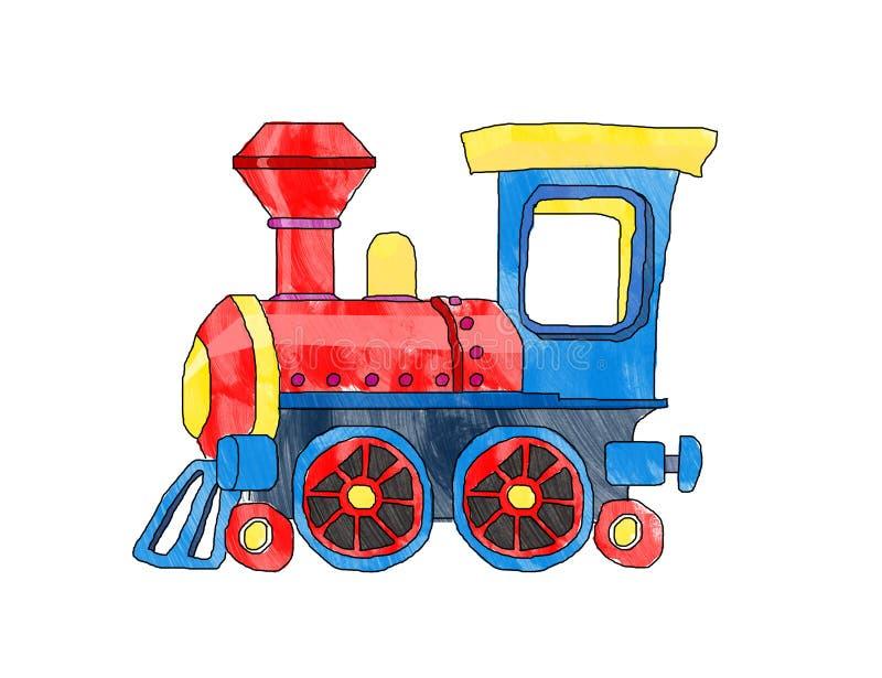 Trem bonito ilustração royalty free
