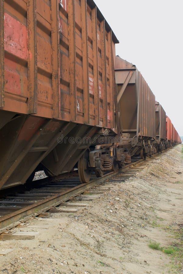 Trem da carga fotos de stock