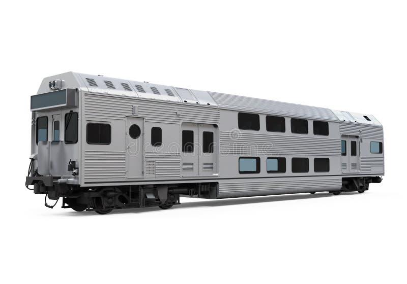Trem da cidade ilustração stock