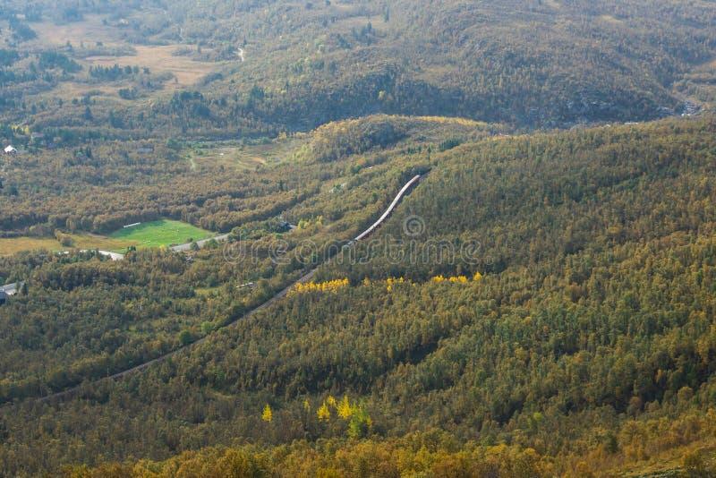 Trem da montanha fotografia de stock