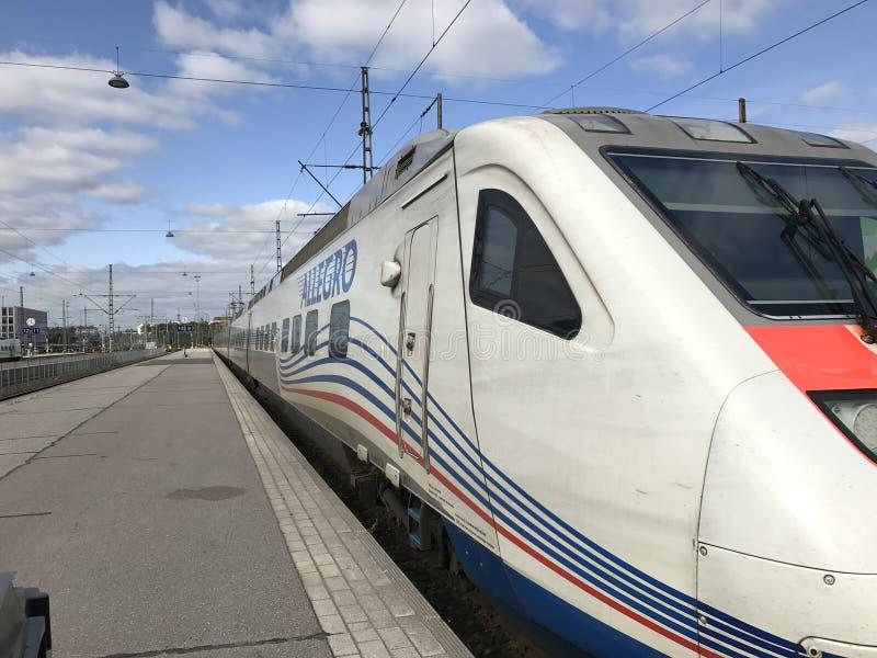 Trem de alta velocidade allegro fotos de stock royalty free