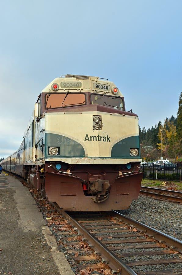 Trem de Amtrak fotos de stock
