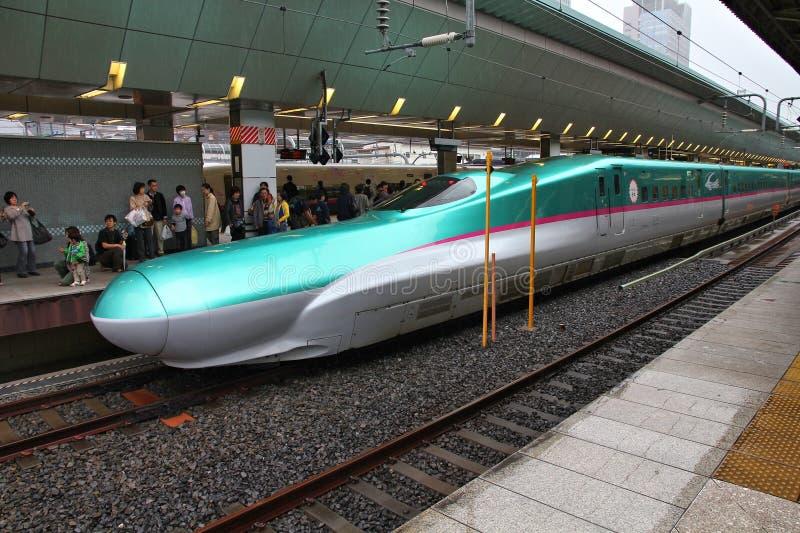 Trem de bala de Japão imagem de stock