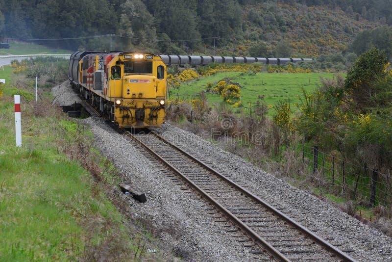 Trem de carvão fotos de stock