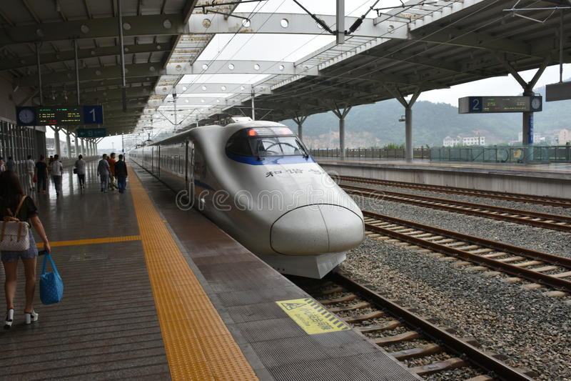 Trem de CFR imagens de stock